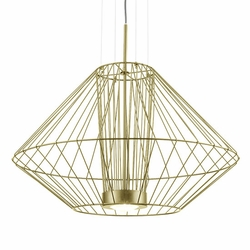 "Kuzco Arctic LED 20"" Outdoor Pendant Light Fixture - Gold EP68328-GD"
