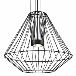 "Kuzco Arctic LED 31.5"" Outdoor Hanging Lighting - Black EP68428-BK"