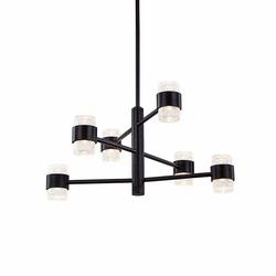 "Kuzco Copenhagen LED 11.75"" Hanging Outdoor Light - Black EP48224-BK"