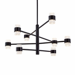 "Kuzco Copenhagen LED 15.75"" Outdoor Pendant Lighting - Black EP48232-BK"
