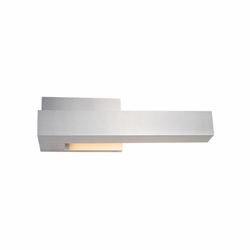 Kuzco Warner LED Left Outdoor Lighting Sconce - Nickel EW13212L-BN