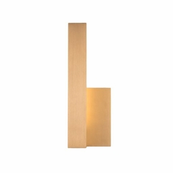Kuzco Warner LED Left Outdoor Wall Mount - Gold EW13212L-GD