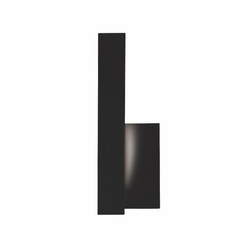 Kuzco Warner LED Left Outdoor Wall Sconce Lighting - Black EW13212L-BK