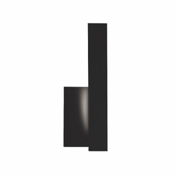 Kuzco Warner LED Right Exterior Light Sconce - Black EW13212R-BK