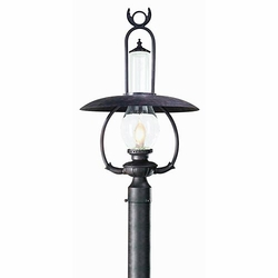 La Grange Nautical Outdoor Lighting Post Lamp by Troy PCD9012OBZ