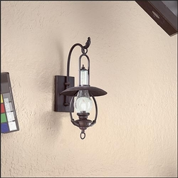La Grange Outdoor Wall Sconce by Troy BCD9010OBZ