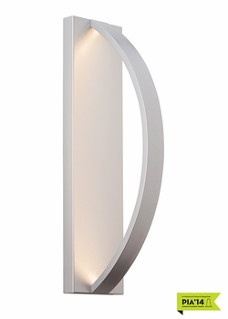 "LBL Hunter 24 LED 24"" Outdoor Wall Light - Silver OD819SILEDW"