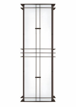 """LBL Industrial Medium 28.3"""" Outdoor Wall Sconce - Fluorescent PW527"""