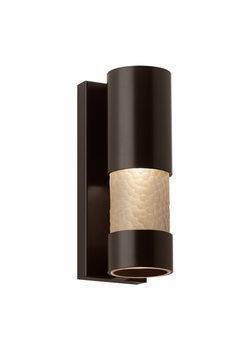 "LBL Moon Dance 13"" LED Exterior Sconce - Bronze OD788SMBZLEDW"