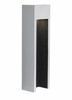 """LBL Raven 18"""" LED Exterior Wall Sconce - Silver OD746SILEDW"""
