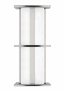 "LBL Tubular Medium 28"" Outdoor Wall Lantern - Fluorescent PW531"