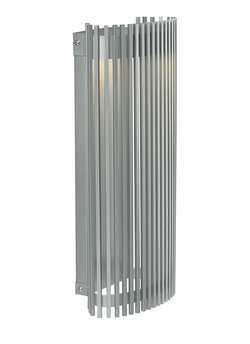 "LBL Upstate 18"" LED Outdoor Lighting Sconce - Silver OD737SILEDW"