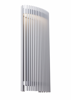 """LBL Upstate 28"""" LED Outdoor Wall Mount - Silver OD791SILEDW"""