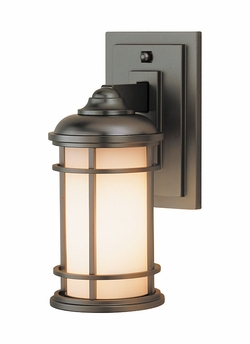 "Lighthouse 11"" Exterior Wall Sconce By Murray Feiss - Nautical OL2200BB"