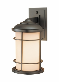 """Lighthouse 13.5"""" Exterior Wall Light By Murray Feiss - Nautical OL2201BB"""