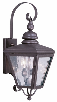"Livex Cambridge 22.5"" Exterior Wall Sconce 2031-07"
