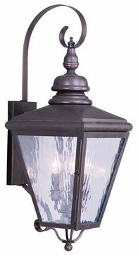 "Livex Cambridge 31.5"" Exterior Wall Light 2033-07"
