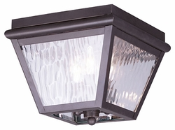 Livex Cambridge Outdoor Ceiling Light - Bronze 2029-07