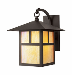 "Livex Montclair Mission 13.75"" Outdoor Wall Lamp - Bronze 2133-07"