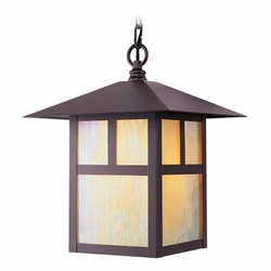 "Livex Montclair Mission 13"" Outdoor Hanging Light Fixture - Bronze 2141-07"