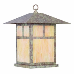 "Livex Montclair Mission 20.5"" Exterior Light Post - Verde Patina 2144-16"