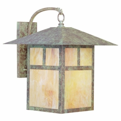 "Livex Montclair Mission 20.5"" Outdoor Lighting Sconce - Verde Patina 2143-16"