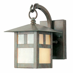 "Livex Montclair Mission 8.5"" Outdoor Wall Mounted Light - Verde Patina 2130-16"