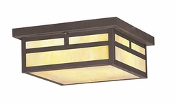 Livex Montclair Mission Outdoor Ceiling Lighting - Bronze 2146-07