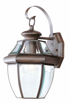 "Livex Monterey 13"" Outdoor Wall Light - Imperial Bronze 2151-58"
