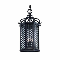 "Los Olivos 25.25"" Outdoor Hanging Lamp By Troy - Mediterranean 2378OI"