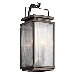 "Manningham 18.75"" Outdoor Wall Lantern By Kichler - Bronze 49385OZ"