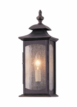 """Market Square 14"""" Outdoor Wall Lighting Fixture By Murray Feiss - Transitional OL2600ORB"""