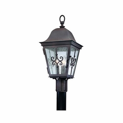 Markham Exterior Post Light By Troy - Bronze P2355WB
