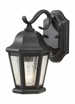 "Martinsville 10.75"" Outdoor Wall Light By Murray Feiss - Black OL5900BK"