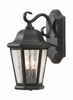 "Martinsville 14.5"" Outdoor Wall Sconce By Murray Feiss - Black OL5901BK"