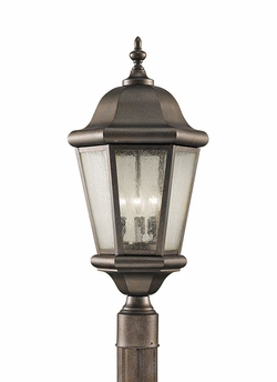 Martinsville Outdoor Post Light Fixture By Murray Feiss - Bronze OL5907CB