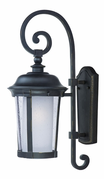 "Maxim Dover Energy Efficient 19.5"" Exterior Wall Lighting - Bronze 86593CDFTBZ"