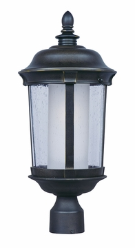 Maxim Dover Energy Efficient Outdoor Post Light Fixture - Bronze 86592CDFTBZ