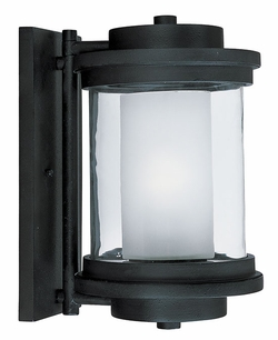 "Maxim Lighthouse Energy Efficient 13"" Outdoor Wall Sconce Lighting - Anthracite 85864CLFTAR"