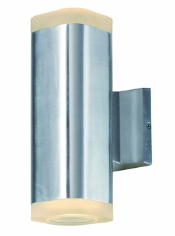 "Maxim Lightray LED 10.25"" Outdoor Wall Light - Aluminum 86135AL"