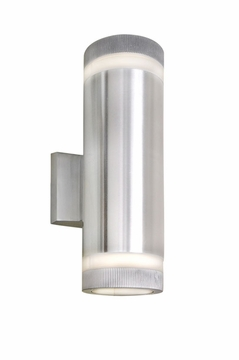 "Maxim Lightray LED 12"" Outdoor Wall Mounted Light - Aluminum 86112AL"