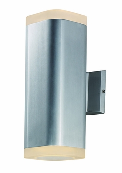 "Maxim Lightray LED 13"" Exterior Wall Lighting - Aluminum 86138AL"