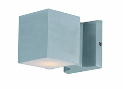 "Maxim Lightray LED 4"" Outdoor Wall Lighting - Aluminum 86107AL"