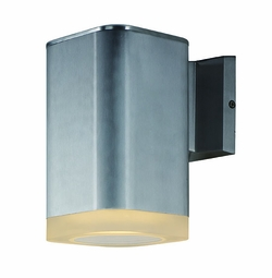 "Maxim Lightray LED 8.25"" Outdoor Wall Lantern -Aluminum 86137AL"