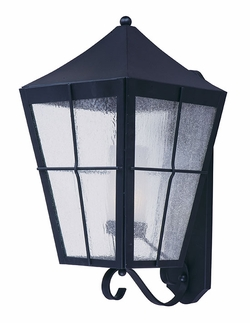 "Maxim Revere Energy Efficient 24"" Outdoor Wall Mounted Light - Black 85338CDFTBK"