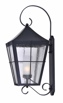 "Maxim Revere Energy Efficient 30"" Outdoor Wall Sconce - Black 85337CDFTBK"