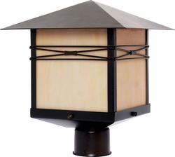 Maxim Taliesin Outdoor Lamp Post - Burnished 8044