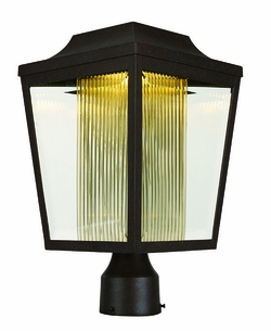 Maxim Villa LED Outdoor Post Lighting - Adobe 85630CLTRAE