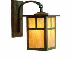 "Mission 10.375"" Outdoor Wall Sconce By Arroyo Craftsman"