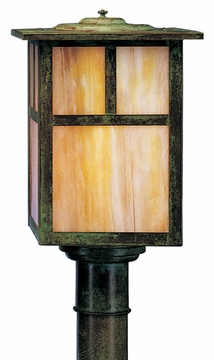"Mission 13.25"" Outdoor Lighting Post Lamp By Arroyo Craftsman"
